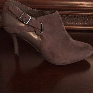 Impo brown suede ankle bootie